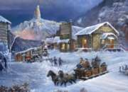 Nuggetville Winter - 1000pc Jigsaw Puzzle by Masterpieces