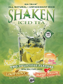 Big Train Shaken Tea - 2 lb. Bulk Bag Assorted Case