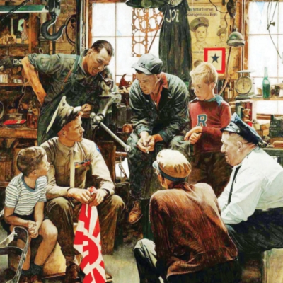 Homecoming Marine - 1000pc Jigsaw Puzzle by Masterpieces