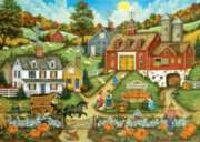 Picking the Perfect Pumpkin - 2000pc Jigsaw Puzzle by Masterpieces