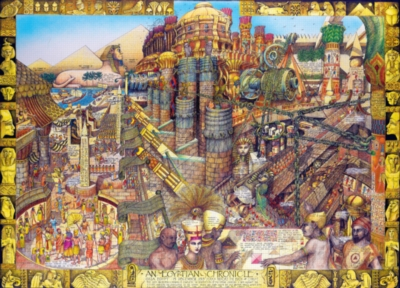Jigsaw Puzzles - Buried Blueprints: An Egyptian Chronicle