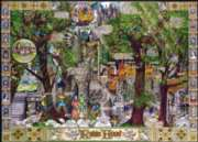 Buried Blueprints: The Adventures of Robin Hood - 1000pc Jigsaw Puzzle by Masterpieces