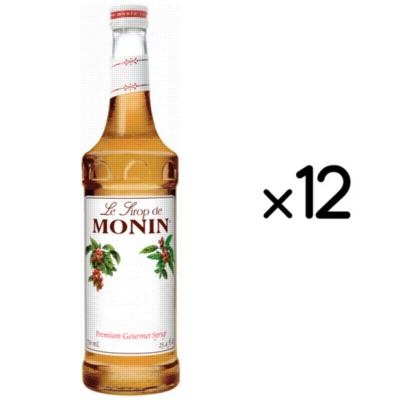 Monin Classic Flavored Syrups - 750 ml. Glass Bottle Assorted Case