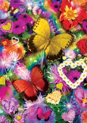 Jigsaw Puzzles - World's Smallest: Butterfly Love