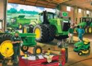Jigsaw Puzzles - John Deere's Dealing Green