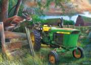 Deere Crossing - 1000pc Jigsaw Puzzle by Masterpieces