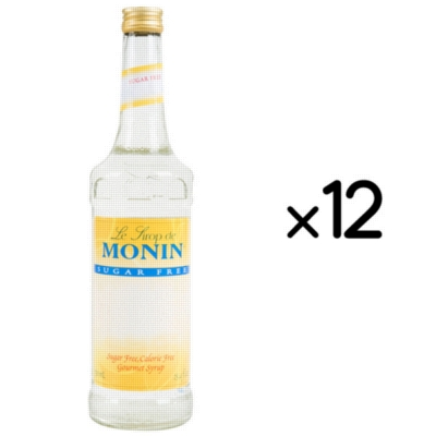 Monin O'free Sugar Free Syrup - 750 ml. Glass Bottle Assorted Case