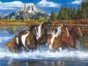 Running Free - 750pc Jigsaw Puzzle by Masterpieces