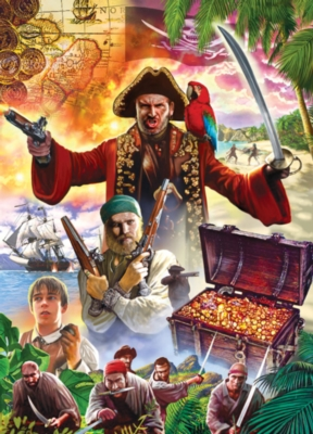 Jigsaw Puzzles - Treasure Island