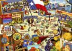 Texas - 1000pc Suitcase Jigsaw Puzzle by Masterpieces