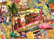 Florida - 1000pc Suitcase Jigsaw Puzzle by Masterpieces