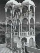 Jigsaw Puzzles - Escher's Belvedere