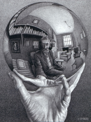 Jigsaw Puzzles - Escher's Self Portrait