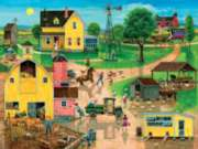 After the Chores - 300pc Large Format Jigsaw Puzzle by Sunsout