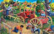 Country Playmates - 300pc Jigsaw Puzzle by Sunsout