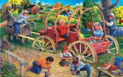 Large Format Jigsaw Puzzles - Country Playmates