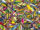 My Favorite Lures - 500pc Jigsaw Puzzle By Sunsout