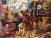 Cobble Hill Large Format Jigsaw Puzzles - Teddy Bear Workshop
