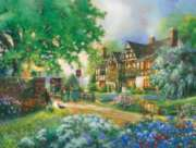 Old Coach Inn - 275pc Large Format Jigsaw Puzzle By Cobble Hill