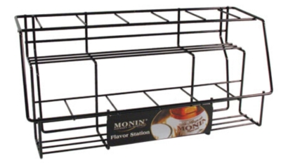 Monin Glass Bottle Display Rack (11 Bottles)