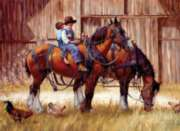 Cobble Hill Jigsaw Puzzles - Back to the Barn
