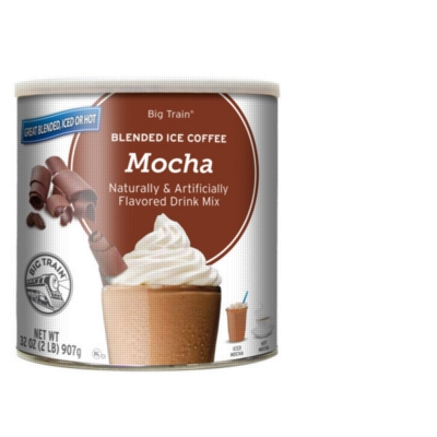 Big Train Blended Ice Coffee - 2 lb. Can Assorted Case