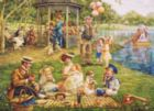 Family Picnic - 1000pc Jigsaw Puzzle By Cobble Hill