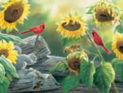 Cobble Hill Jigsaw Puzzles - Sunflower Buffet
