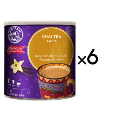 Big Train Chai - 1.9 lb. Can Assorted Case