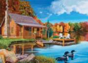 Cobble Hill Jigsaw Puzzles - Loon Lake