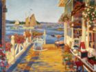 Nantucket Fishing Club - 500pc Jigsaw Puzzle By Cobble Hill