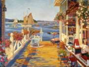 Cobble Hill Jigsaw Puzzles - Nantucket Fishing Club