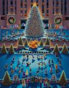 Winter Fun - 1000pc Jigsaw Puzzle by Dowdle