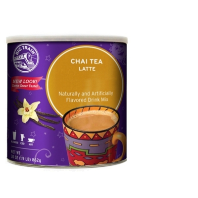 Big Train Chai Tea - 1.9 lb. Can