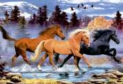 Running Free Horses - 500pc Jigsaw Puzzle By Educa