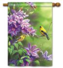 Finch Pair - Standard Flag by Magnet Works