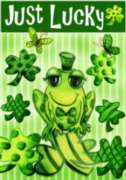 Just Lucky - Garden Flag by Toland
