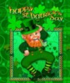 Happy Leprechaun - Garden Flag by Toland