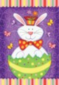 Bunny Surprise - Garden Flag by Toland