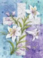 Easter Lilies - Garden Flag by Toland
