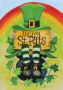 Happy St. Pat's - Standard Flag by Toland