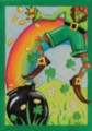 Leaping Leprechaun - Garden Flag by Toland