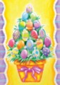 Egg Stack - Garden Flag by Toland