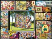 Jigsaw Puzzles - Quilt Montage