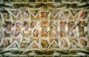 Sistine Chapel Ceiling - 1000pc Jigsaw Puzzle By Clementoni