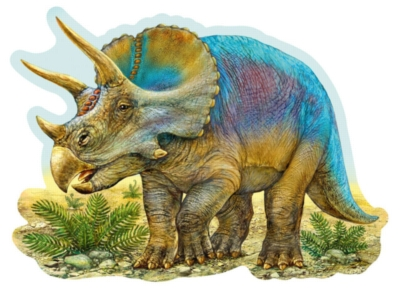 Jigsaw Puzzles for Kids - Triceratops