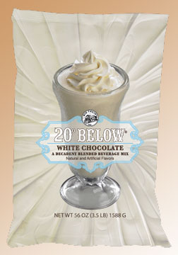 Big Train 20 Below White Chocolate - 3.5 lb. Bulk Bag