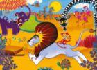 Tinga Tinga Tales� - Go Lion Go! - 60pc Jigsaw Puzzle By Ravensburger