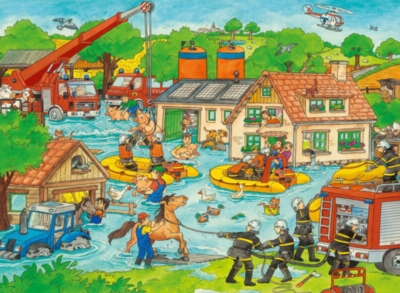 Jigsaw Puzzles for Kids - In the Event of a Flood