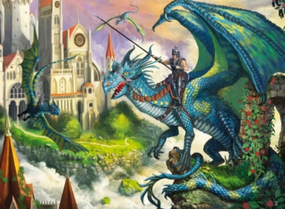 Jigsaw Puzzles for Kids - Dragon Rider